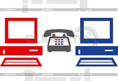 Internet-Anschluss Illustration | Stock Vektorgrafik |ID 3035388
