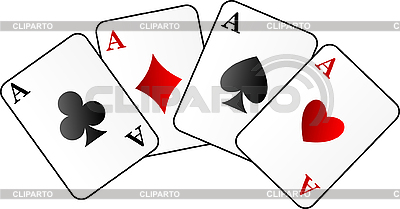 Four aces | Stock Vector Graphics |ID 3035402