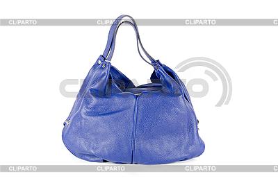 Niebieski worek kobiety | Foto stockowe wysokiej rozdzielczości |ID 3036423
