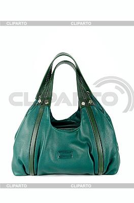 Zielona torba kobiety | Foto stockowe wysokiej rozdzielczości |ID 3036431