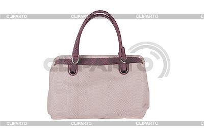 Beżowa torba kobiety | Foto stockowe wysokiej rozdzielczości |ID 3036513