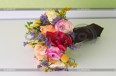 Wedding bunch of flowers   High resolution stock photo  ID 3036800