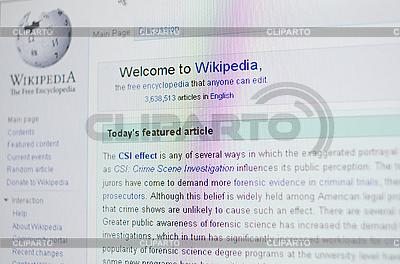 Wikipedia page | High resolution stock photo |ID 3036844