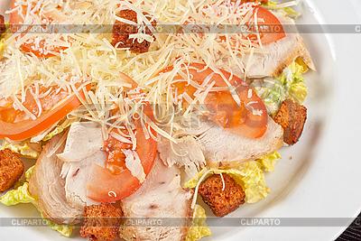 Chicken meat filet salad | High resolution stock photo |ID 3037266