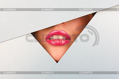 Schöne weibliche Lippen | Foto mit hoher Auflösung |ID 3037384