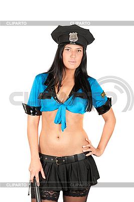 Sexy Polizistin | Foto mit hoher Auflösung |ID 3037603