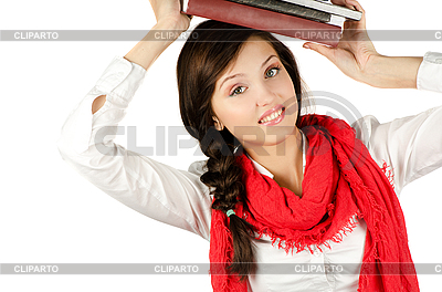 Young student girl | High resolution stock photo |ID 3076589
