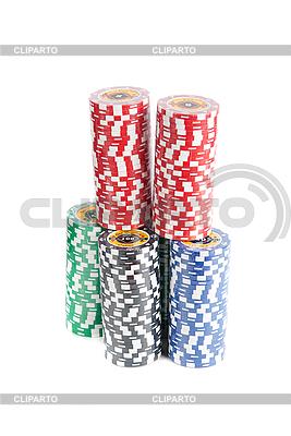 Фишки для покера | Фото большого размера |ID 3124099