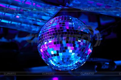 Bola de discoteca foto de alta resoluci n cliparto - Bola de discoteca de colores ...