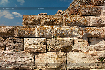 Ancient stone wall | High resolution stock photo |ID 3020482