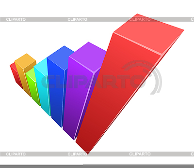 Colorful 3d graphic  | Stock Vector Graphics |ID 3021519
