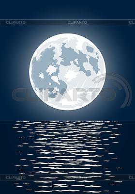 보름달   벡터 클립 아트  ID 3021543