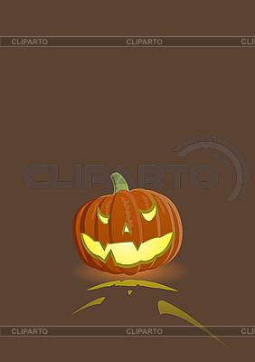 Evil pumpkin | Stock Vector Graphics |ID 3021567