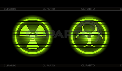 Two danger icons | Stock Vector Graphics |ID 3021810