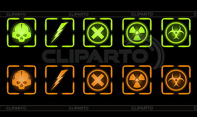 Industrial icons   Stock Vector Graphics  ID 3021816