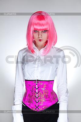 Atrakcyjna kobieta, ubrana w gorset orientalnej | Foto stockowe wysokiej rozdzielczości |ID 3022196