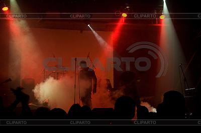 Rock-Konzert mit Lasershow | Foto mit hoher Auflösung |ID 3022335