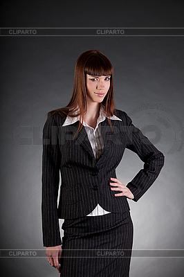 Poważne szuka kobiety biznesu | Foto stockowe wysokiej rozdzielczości |ID 3022381