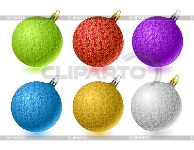 Christmas balls | Stock Vector Graphics |ID 3022471