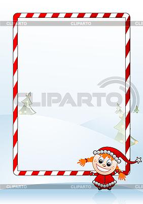 Christmas frame | Stock Vector Graphics |ID 3022545