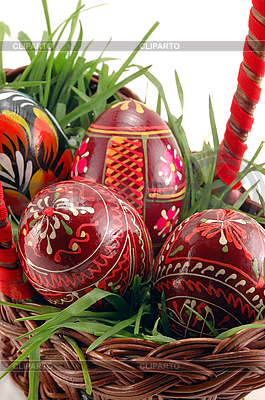 Easter eggs  | High resolution stock photo |ID 3023269