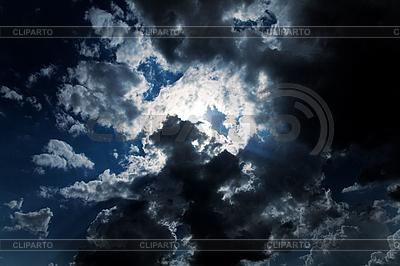 Dunkler bewölktener Himmel | Foto mit hoher Auflösung |ID 3023452