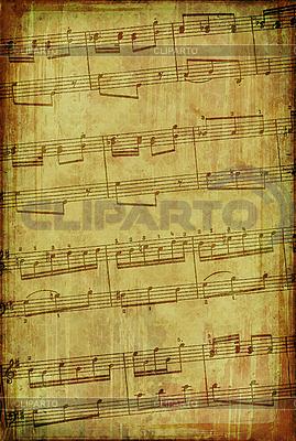 Grunge tło muzyczne spalenizny | Stockowa ilustracja wysokiej rozdzielczości |ID 3023691