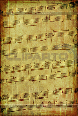 Grunge burnt musical background  | High resolution stock illustration |ID 3023691