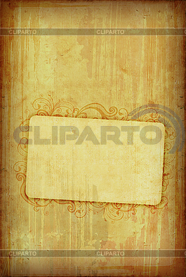Vintage floral frame | High resolution stock illustration |ID 3023703