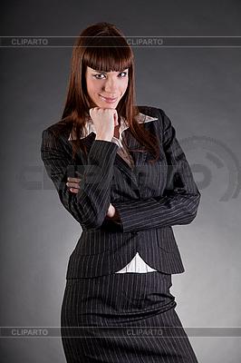 매력적인 비즈니스 여자   높은 해상도 사진  ID 3037734