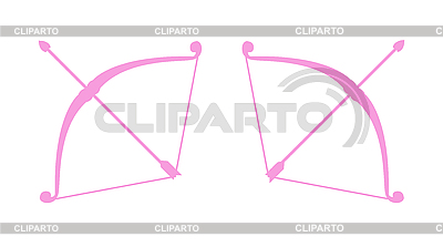 Bow and arrow | Stock Vector Graphics |ID 3144104