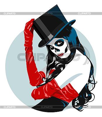 Sugar Skull girl | Stock Vector Graphics |ID 3193545