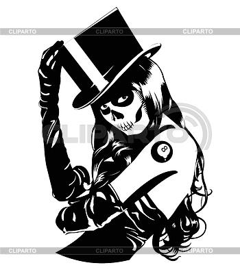 Sugar Skull girl | Stock Vector Graphics |ID 3265146
