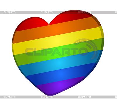Rainbow heart   Stock Vector Graphics  ID 5103485