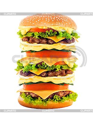 Big smaczne cheeseburger | Foto stockowe wysokiej rozdzielczości |ID 3019808