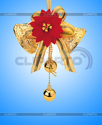 Christmas toy bells and balls | High resolution stock photo |ID 3019904