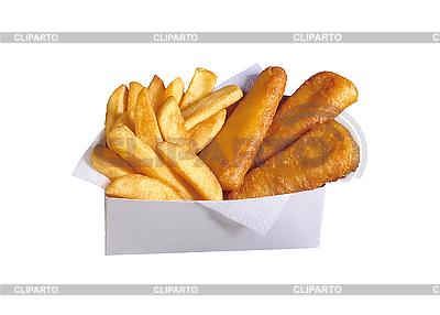 Französische Pommes frites | Foto mit hoher Auflösung |ID 3019935