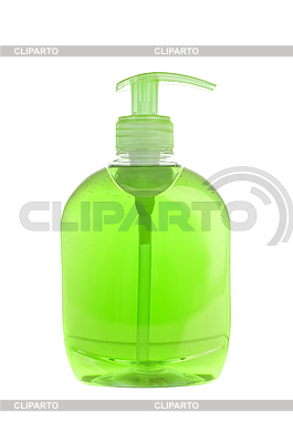 Green soap bottle  | High resolution stock photo |ID 3110525
