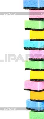 여러 가지 빛깔 된 스폰지 | 높은 해상도 사진 |ID 3110526