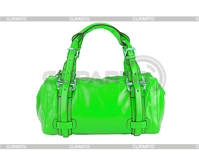 Green woman bag  | High resolution stock photo |ID 3111396