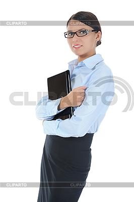 Kobieta z laptopem | Foto stockowe wysokiej rozdzielczości |ID 3021599