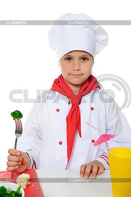 Little Chef | Foto stockowe wysokiej rozdzielczości |ID 3021742