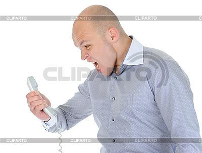 Nervous businessman | Foto stockowe wysokiej rozdzielczości |ID 3021858