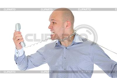 Nervous businessman   High resolution stock photo  ID 3021862