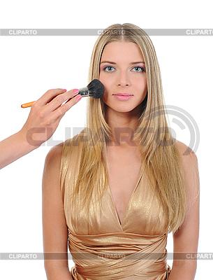 Makijaż dla młodych blondynka | Foto stockowe wysokiej rozdzielczości |ID 3021877