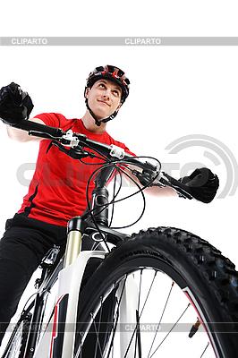 Portrait of cyclist | High resolution stock photo |ID 3022051