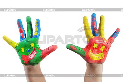 孩子手中的画 | 高分辨率照片 |ID 3022072
