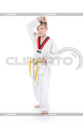 Knabe im Kimono | Foto mit hoher Auflösung |ID 3022107