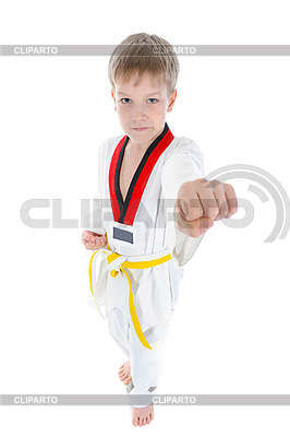 Young athlete beats his fist | High resolution stock photo |ID 3022109