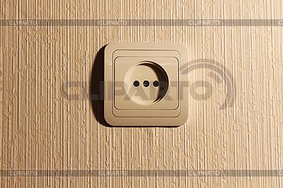 Wtyczka ściany z ostrym cieniu | Foto stockowe wysokiej rozdzielczości |ID 3022804